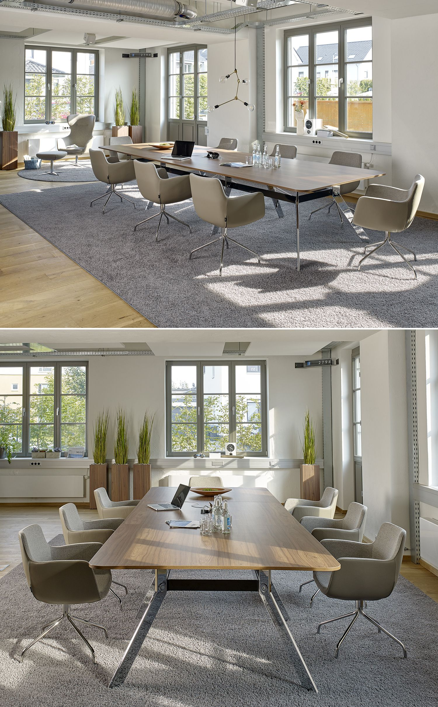 Der Hochwertige Und Moderne Konferenztisch Spider Beeindruckt Durch Eleganz Konferenztisch Innen Buro Innenarchitektur