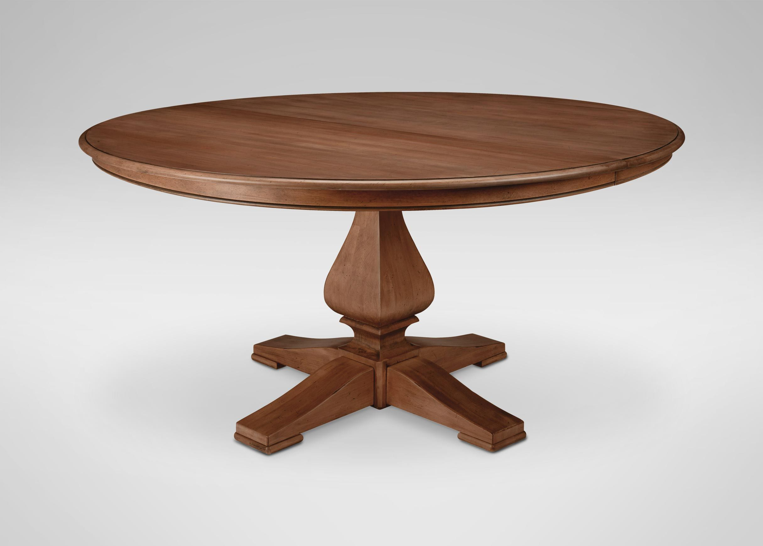 Ethan Allen Cameron Round Dining Table 2 389 00 Dimensions 60