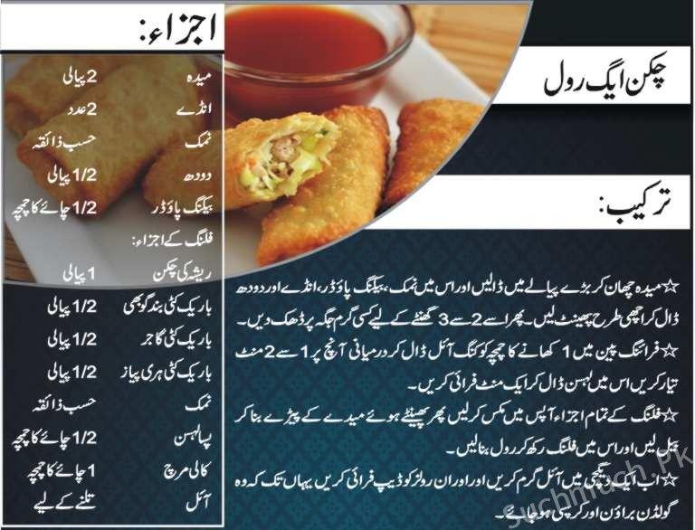 Chicken Egg Roll Recipe Easy Chicken Egg Rolls Recipe Recipes Chicken Egg Rolls Easy Recipes Pakistani Rec Recipes Cooking Recipes In Urdu Egg Roll Recipes