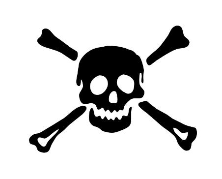 Pin By Dani Eddie On Bone Skull And Crossbones Original Monster Pirate Skull