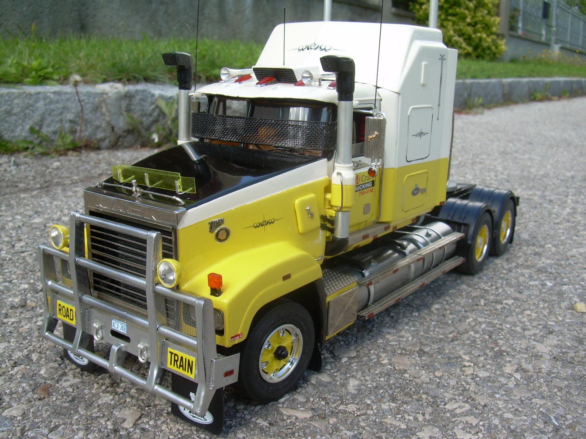 Pin by Tim on Model trucks Model truck kits