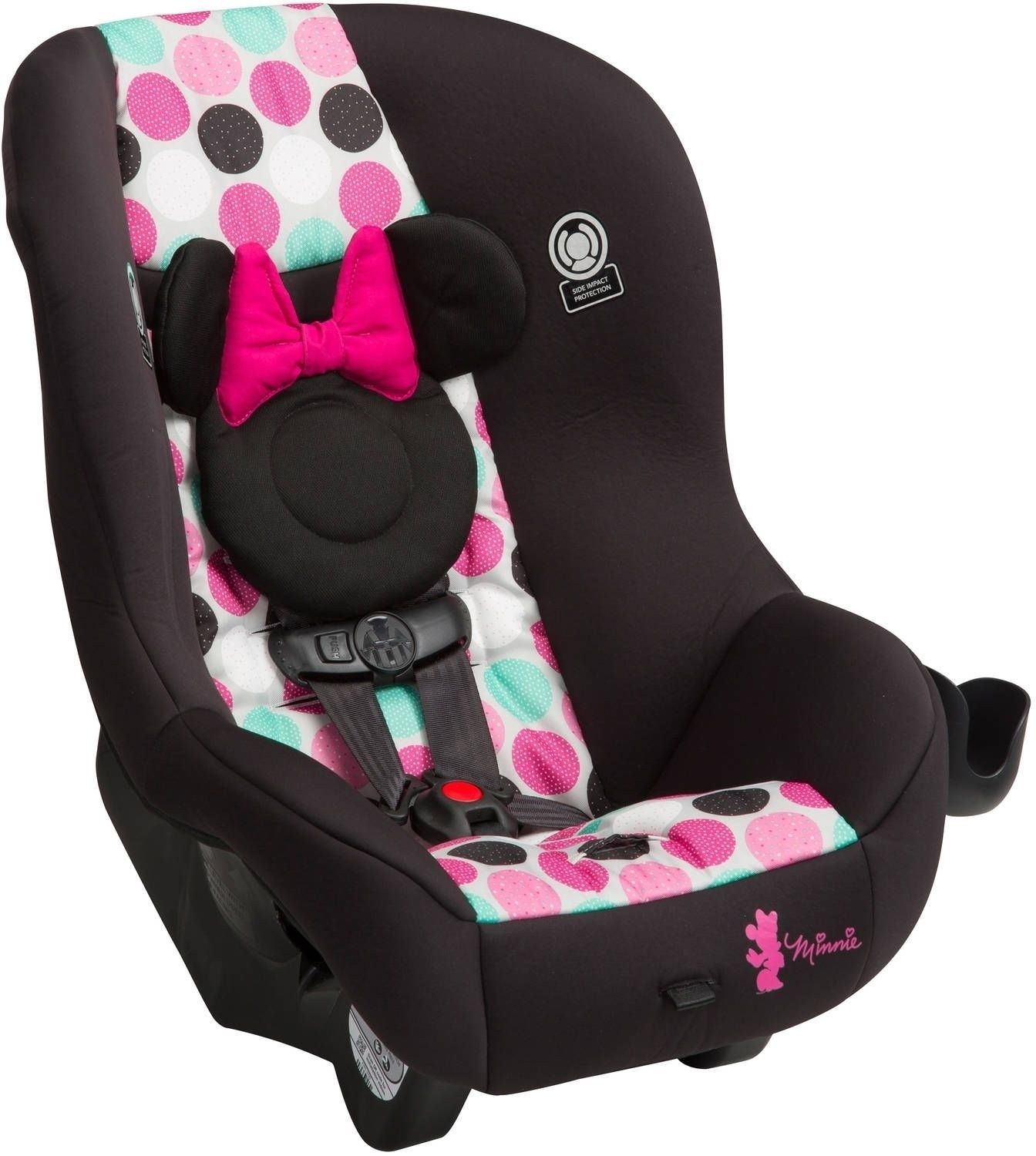 Disney Minnie Mouse Baby Pink Girls Car Seat Infant Toddler Safety