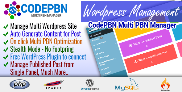 CodePBN - Multi PBN Manager - Nulledcodelist.com