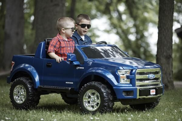 Ford Toys For Boys : Fisher price power wheels ford f volt battery