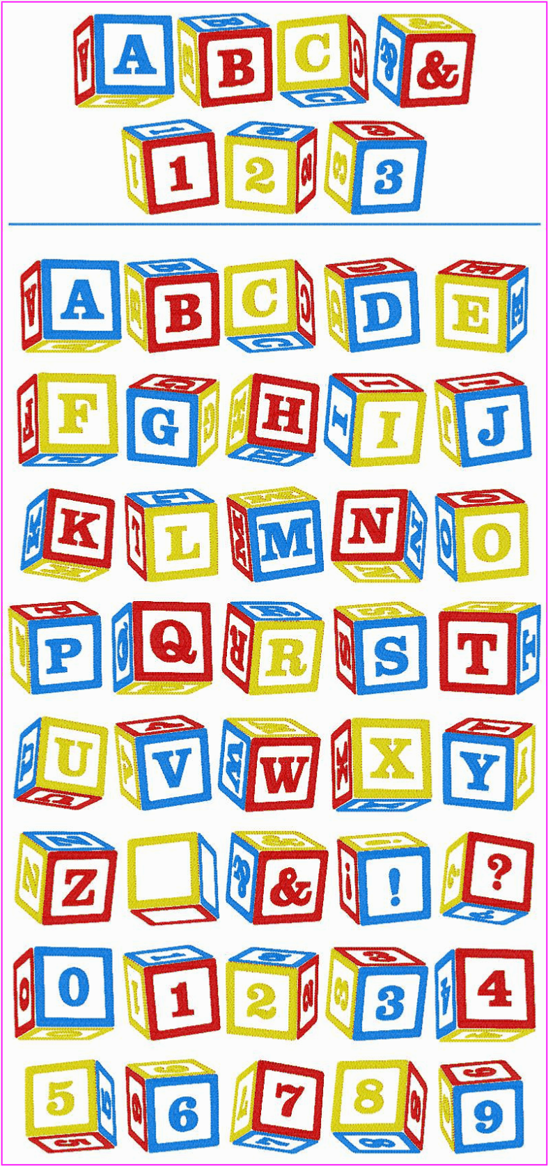Baby Block Alphabet Letters Baby Blocks Block Lettering Lettering Alphabet