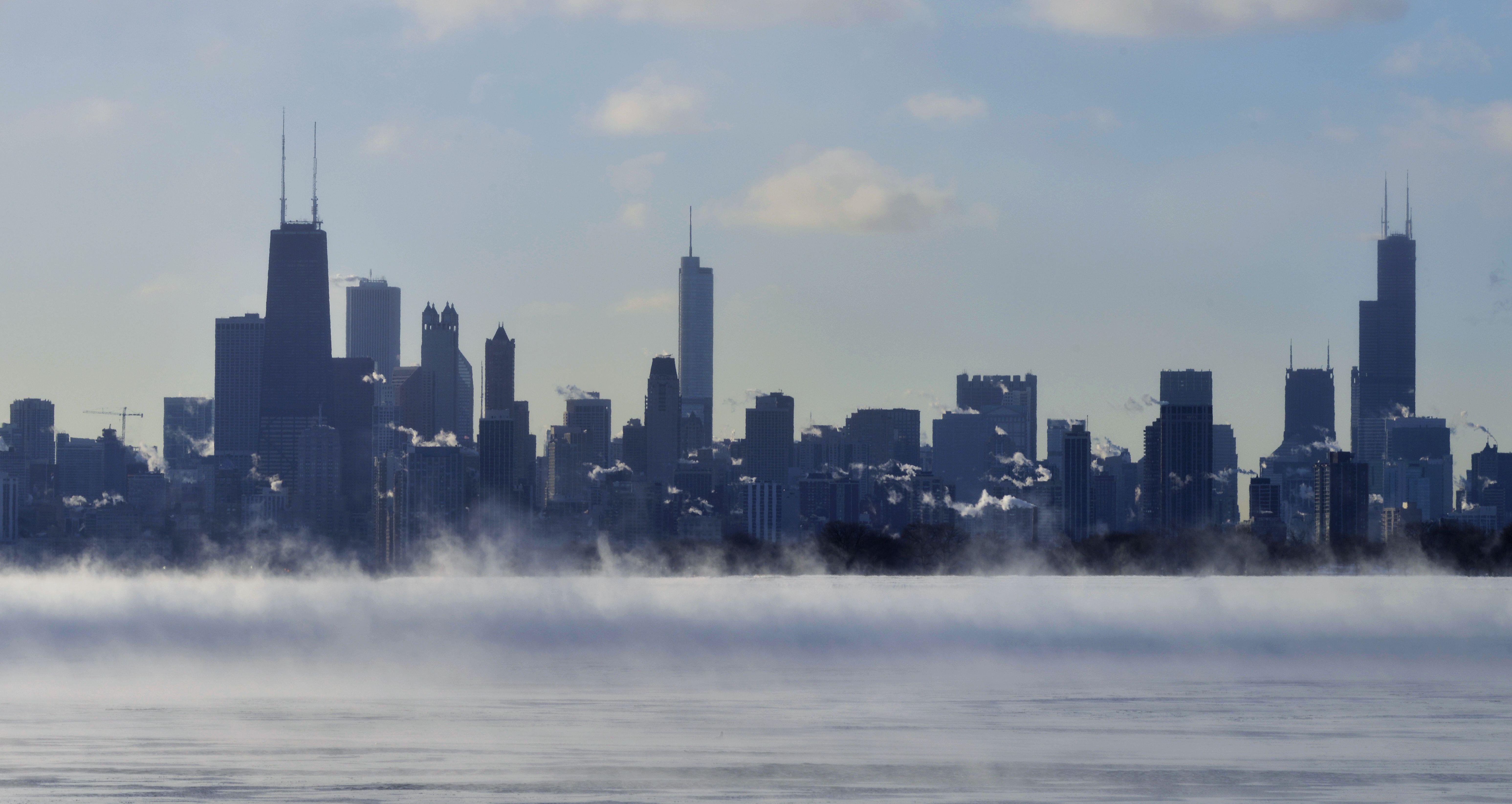 Chicago Skyline Skyline Background Images
