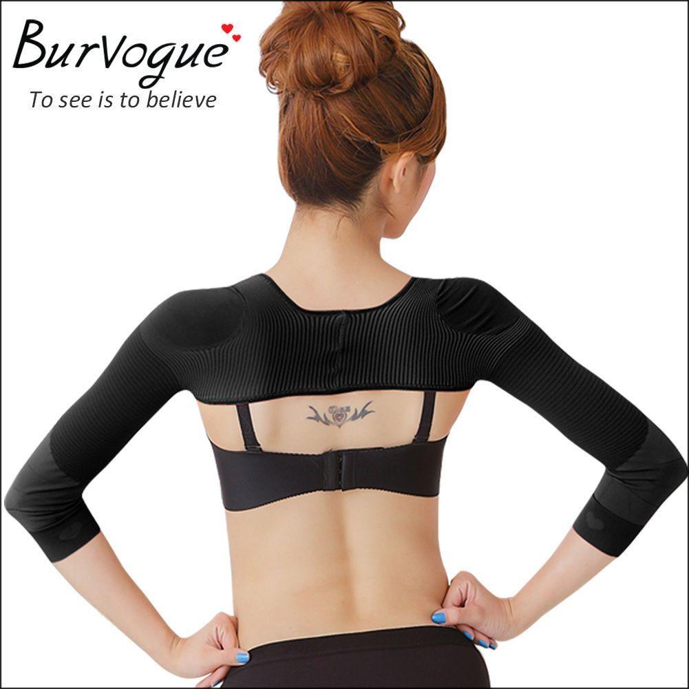 96ed6c3d7f Arm Shapewear Back Shoulder Corrector Slimming Body Shaper Arm Slimmer  Sleeves