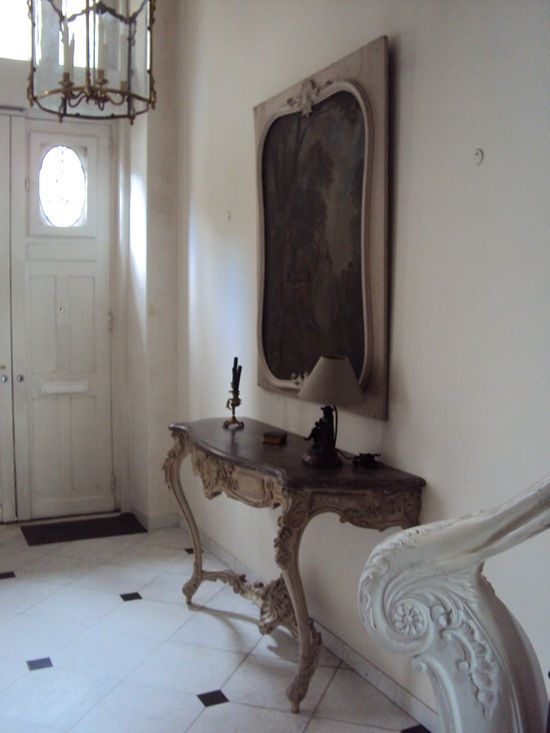 simple french styled entrance hall in white neutrals love the big rh pinterest com