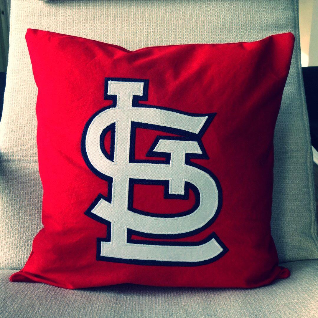 St. Louis Cardinals Pillow // Pillow Cover // Jersey Pillow //Cardinals