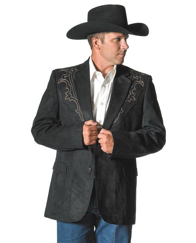 Men S Black Embroidered Western Sport Jacket Latest Clothes For Men Blazers For Men Sports Jacket