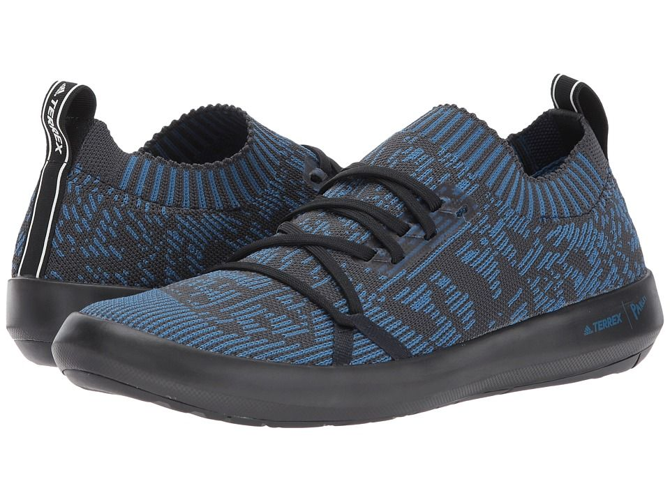 3442f0bc9566 adidas Outdoor Terrex Boat DLX Parley Men s Shoes Core Blue Core  Black Chalk White