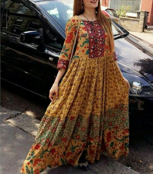 Normal Frock Designs 2017 Sri Lanka: Pin By Umm E Ruman On Normal In 2019