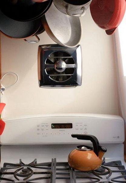 kitchen wall mount exhaust fan wall