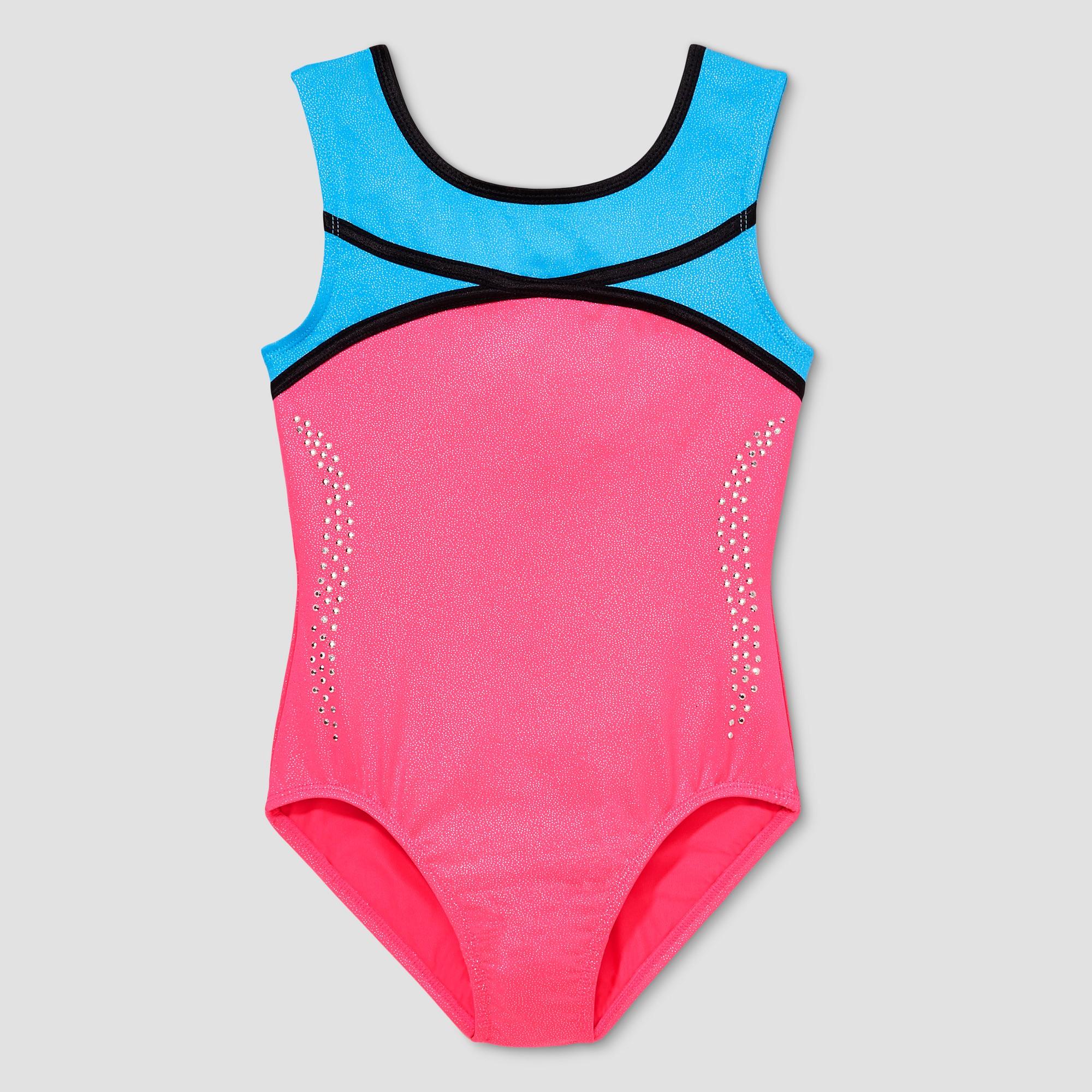 80c3103da Freestyle by Danskin Girls  Gymnastics Leotard - Pink 2T