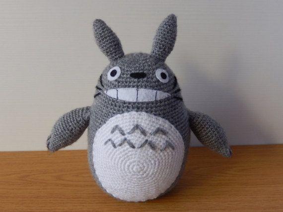 Amigurumi Totoro : Totoro amigurumi totoro plush totoro toy totoro crochet studio