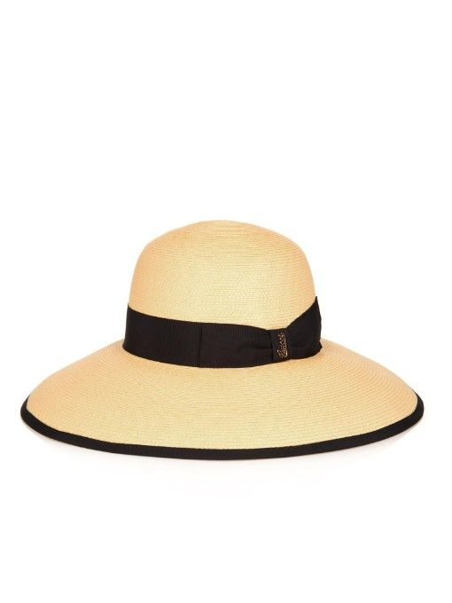 440a561793d Gucci Wide-brimmed straw hat
