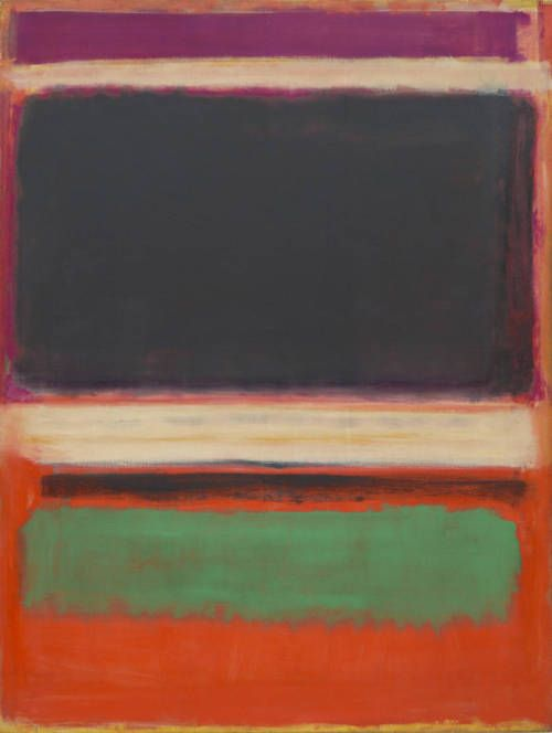"""""""The subject of painting is the painting itself."""" - Mark Rothko"""