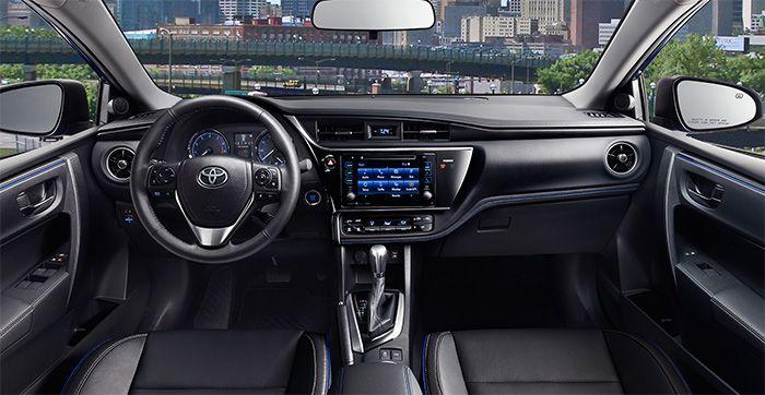 2017 Toyota Corolla Interior Design