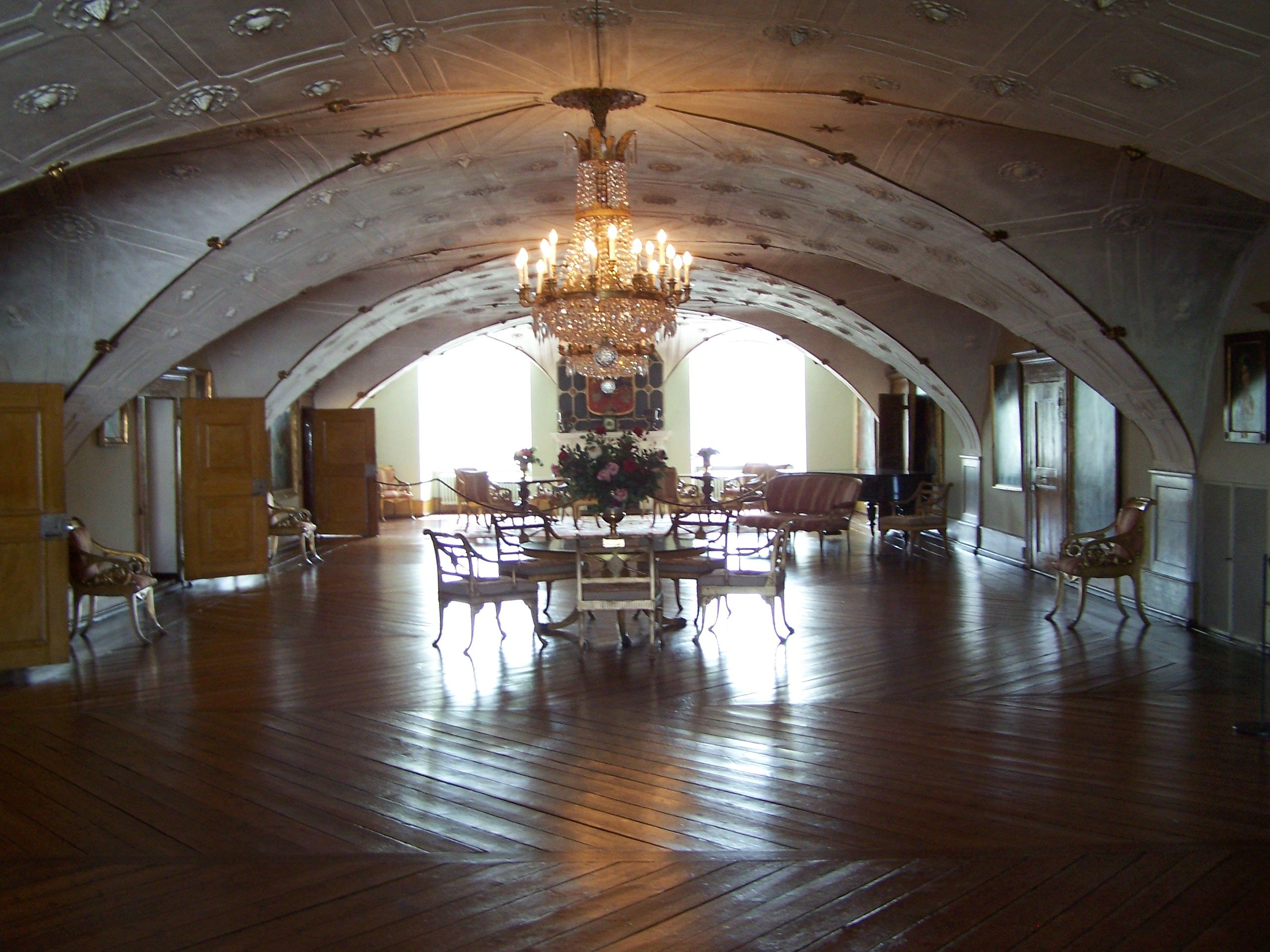 inside a castle | description inside glucksburg castle at