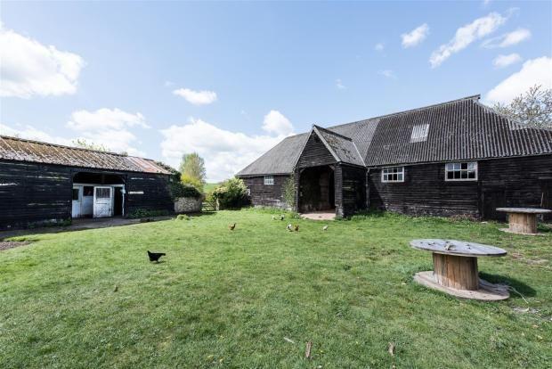 Unconverted Barn For Sale. High Cross, near Ware ...