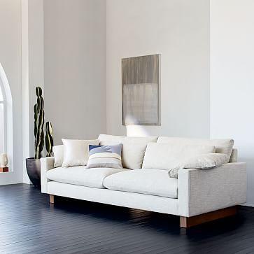 Something Similar In Style Harmony Sofa 82 Quot Westelm Deep Sofa Contemporary Sofa West Elm Sofa