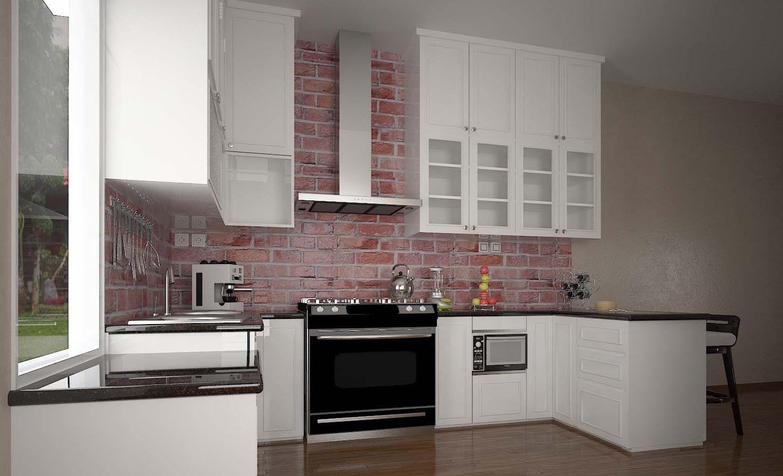 harga kitchen set - lemari pakaian sliding - rak tv minimalis by