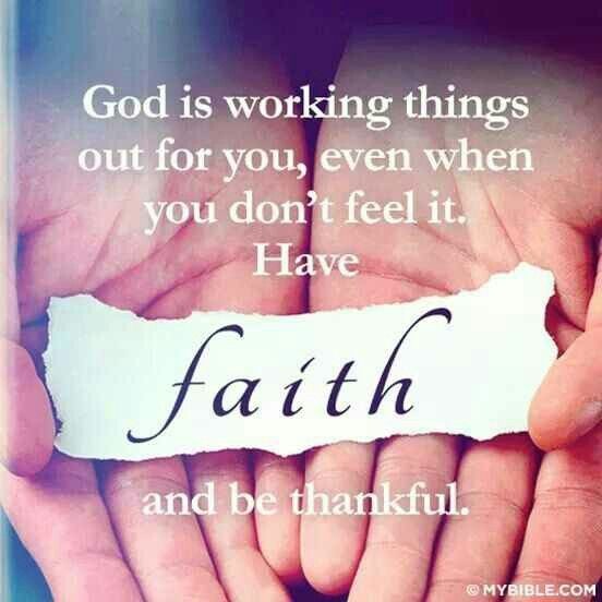 Yes It Does We Walk By Faith Not By Sight Nor Do We Walk By