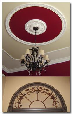 I Like The Ceiling Medallion With