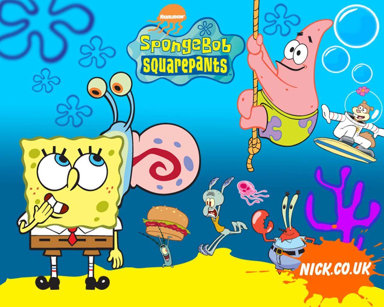 Gambar Wallpaper Spongebob Lucu