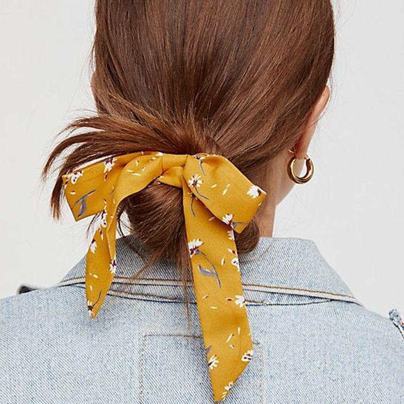 Tendance cheveux le foulard en accessoire beauty Hair