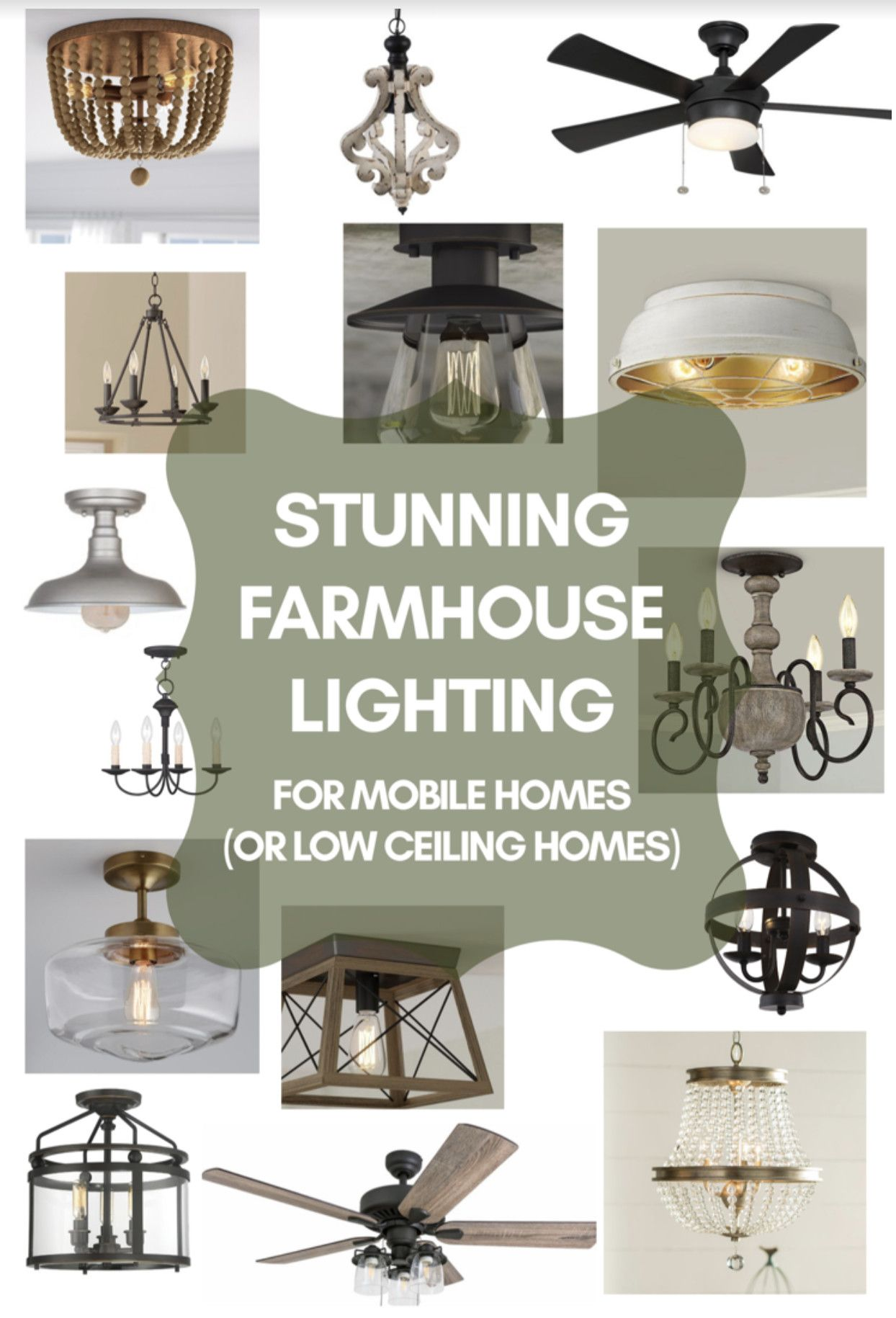 15 Stunning Farmhouse Style Light Fixtures For Low Ceilings Farmhouse Light Fixtures Low Ceiling Lighting Farmhouse Style Lighting