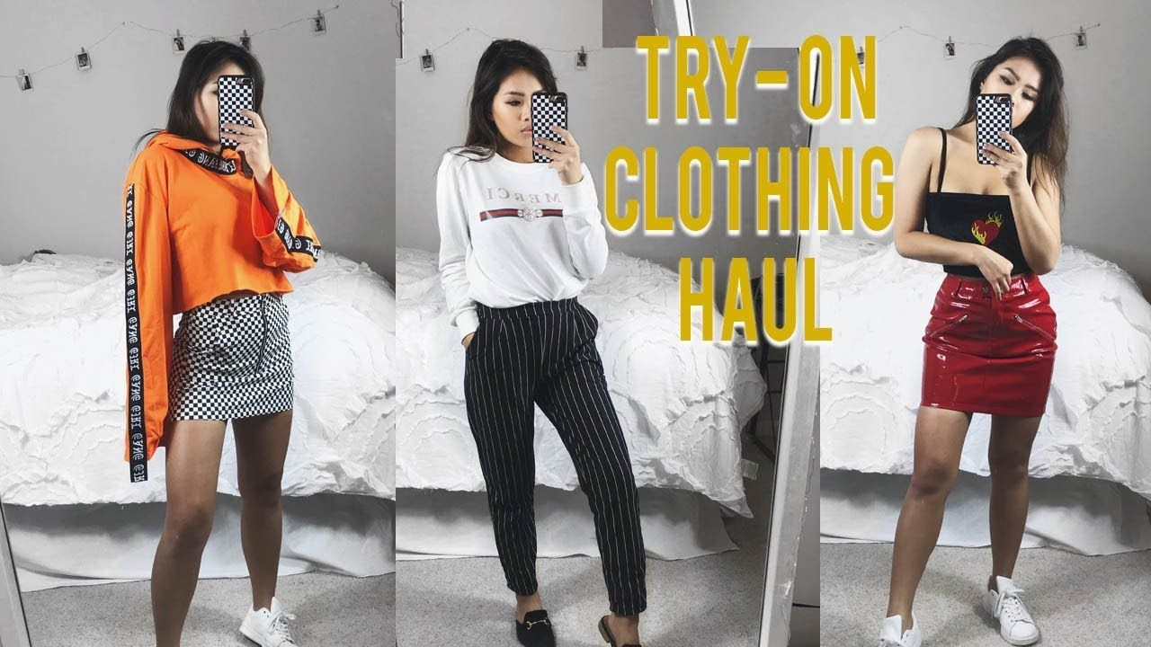 fda805b79f48 HUGE TRY-ON CLOTHING HAUL | SheIn, Lupsona etc. - YouTube | Fashion ...