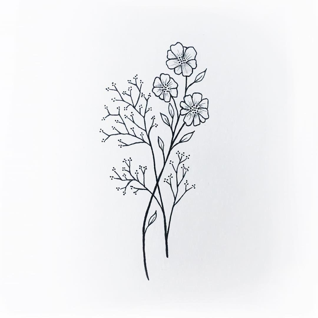 Wildflowers tattoo