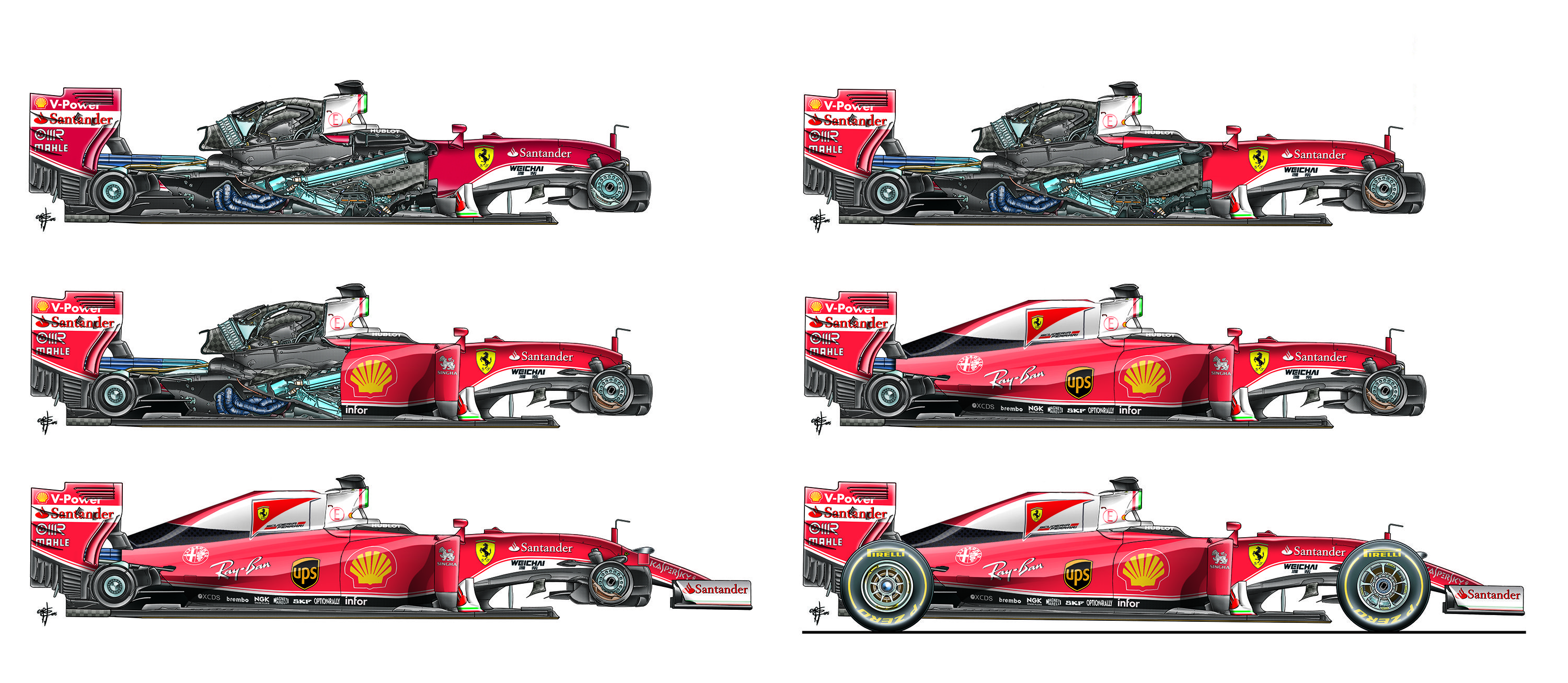 We Are Going Back To The Ferrari Sf16 H Which We Showed A Few