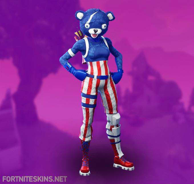 Fortnite Fireworks Team Leader Skin Epic Outfit Fortnite Skins Team Leader Teddy Bear Costume Bear Costume