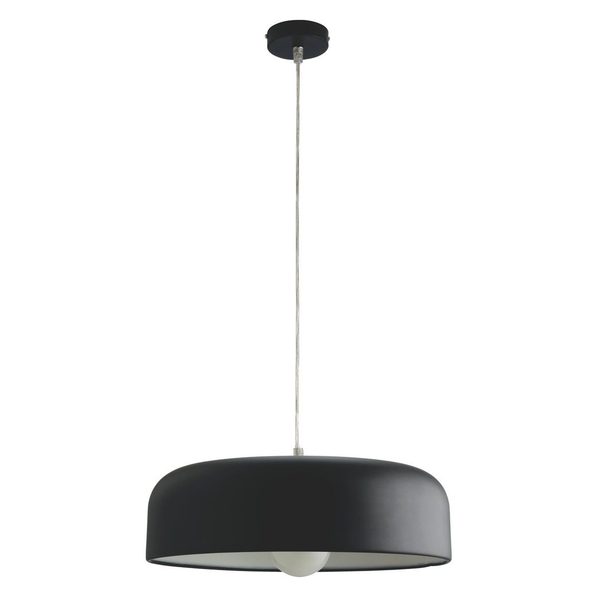 euan black metal ceiling light buy now at habitat uk lighting