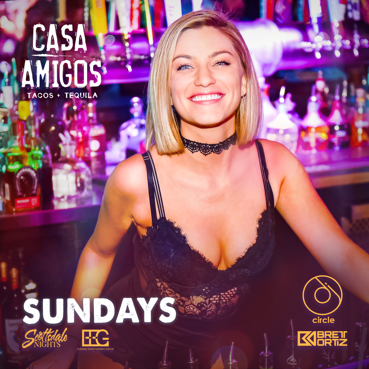Come see this Gorgeous bartender smile behind the bar ...