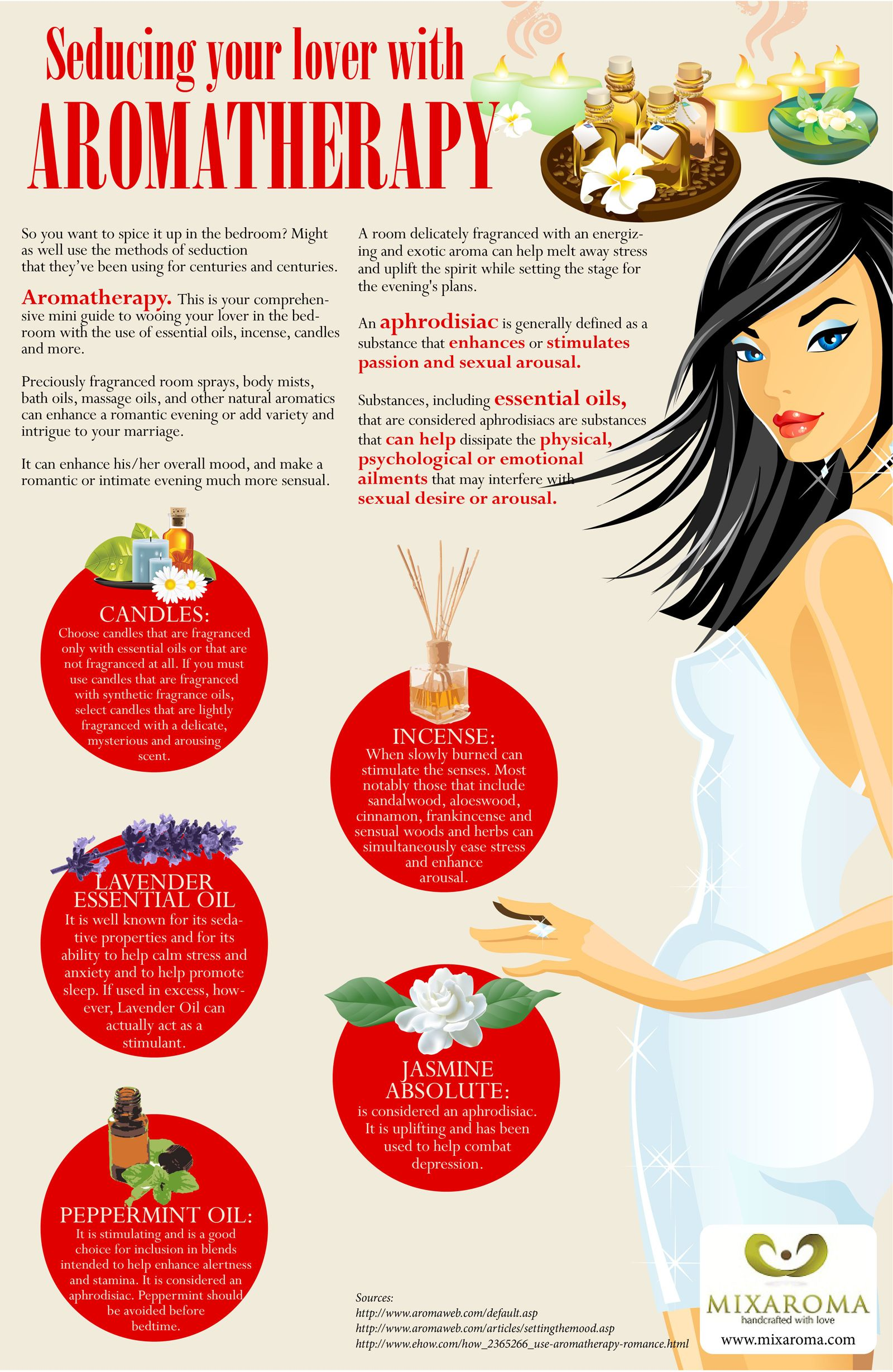 How To Seduce Your Lover With Aromatherapy Aromatherapy Essential Oils Aromatherapy Essential Oil Aphrodisiac