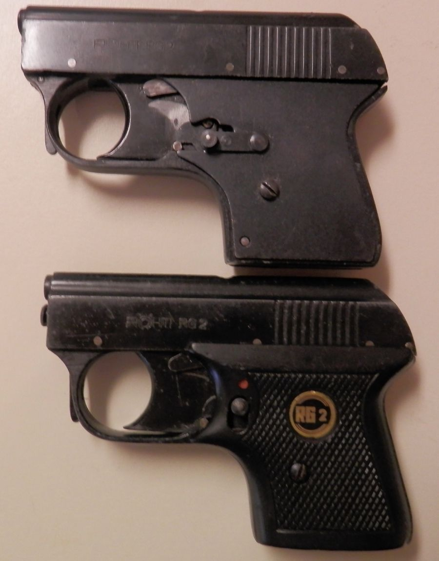 2 ROHM RG2 Starter Pistols Made in Germany- 1960's For Sale at