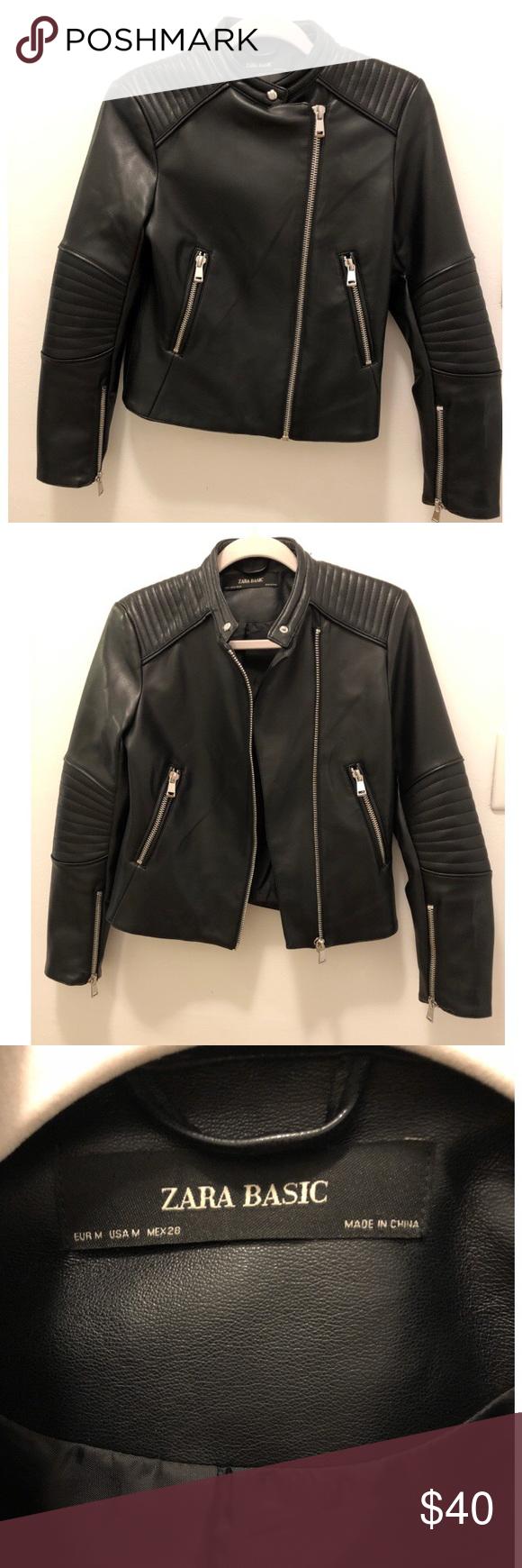 Zara biker jacket Zara biker jacket, Zara, Jackets
