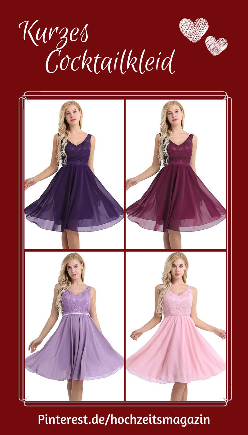 Kurzes Brautjungfernkleid Ohne Arm Mit Toller Spitzenapplikation In Verschiedenen Farben Cocktailkleid Abendkleid Spitzenkleid