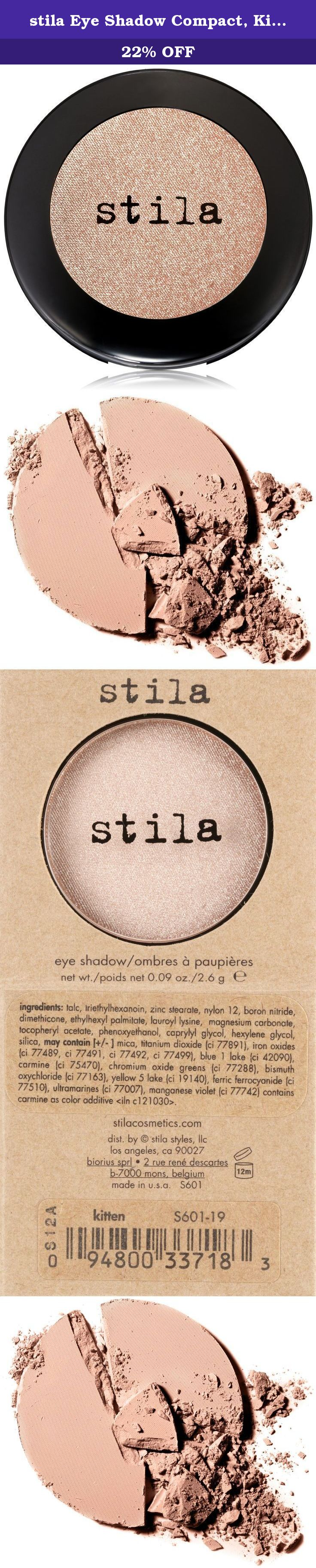 Stila Eye Shadow Compact Kitten Award Winning Pressed Formulas From Classic Neutrals To The Hottest Fashion Hues Eyeshadow Shadow Beauty And Personal Care