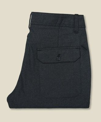 Saturdays - Bellows Pant - Black