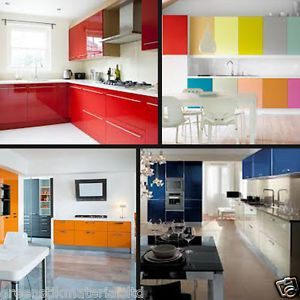 Fantastic Details About 610 X 5 M 24 Gloss Self Adhesive Kitchen Beutiful Home Inspiration Cosmmahrainfo