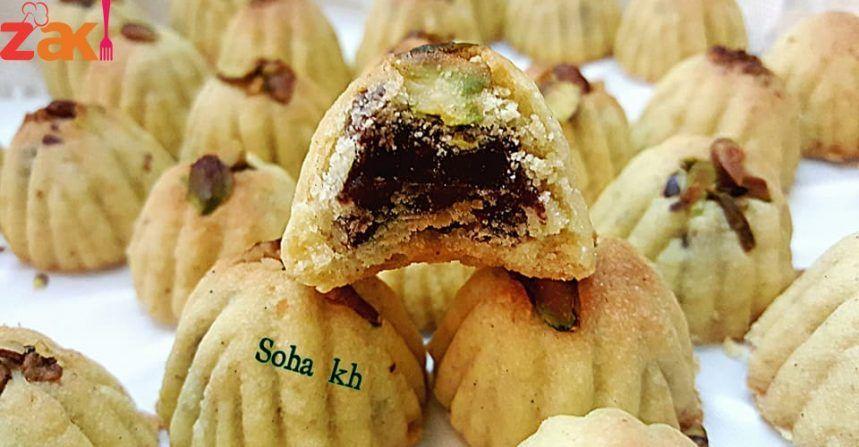 طريقة عمل المعمول السوري زاكي Food Receipes Arabic Sweets Recipes Food And Drink