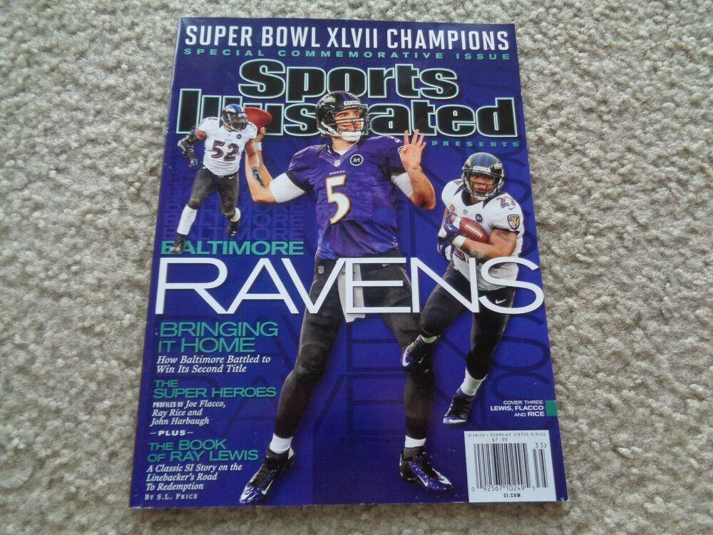 Sports Illustrated Ravens Super Bowl XLVII Champions