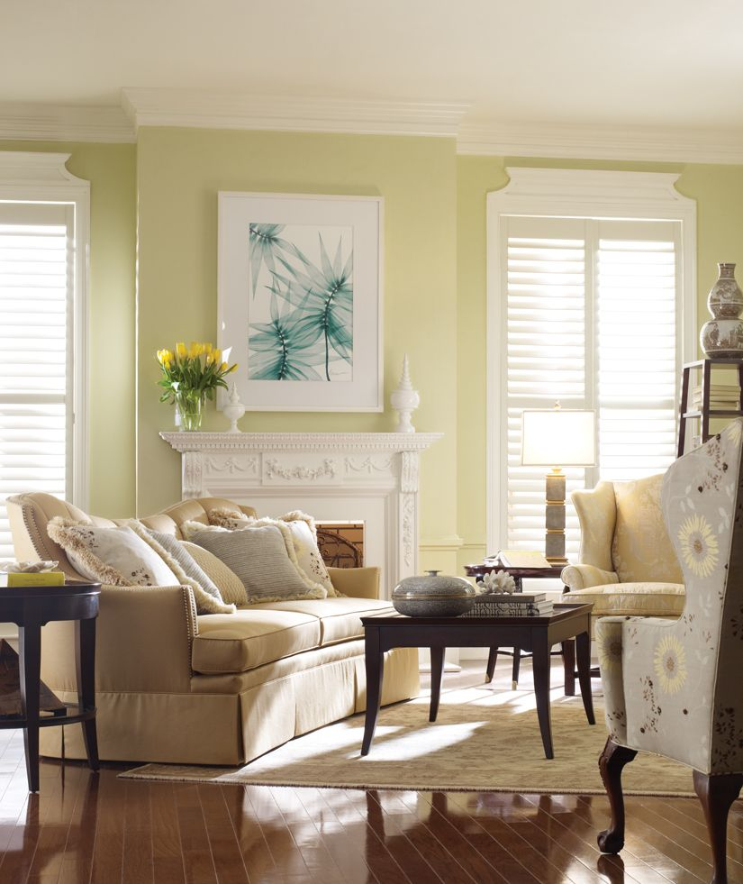Benjamin Moore Colors For Your Living Room Decor: Benjamin Moore Guilford Green