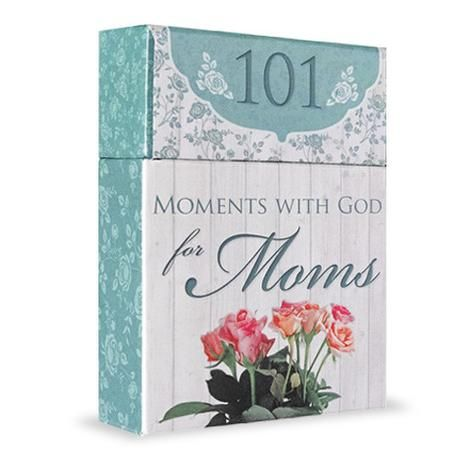 101 Moments with God for Moms | Wisdom Cards