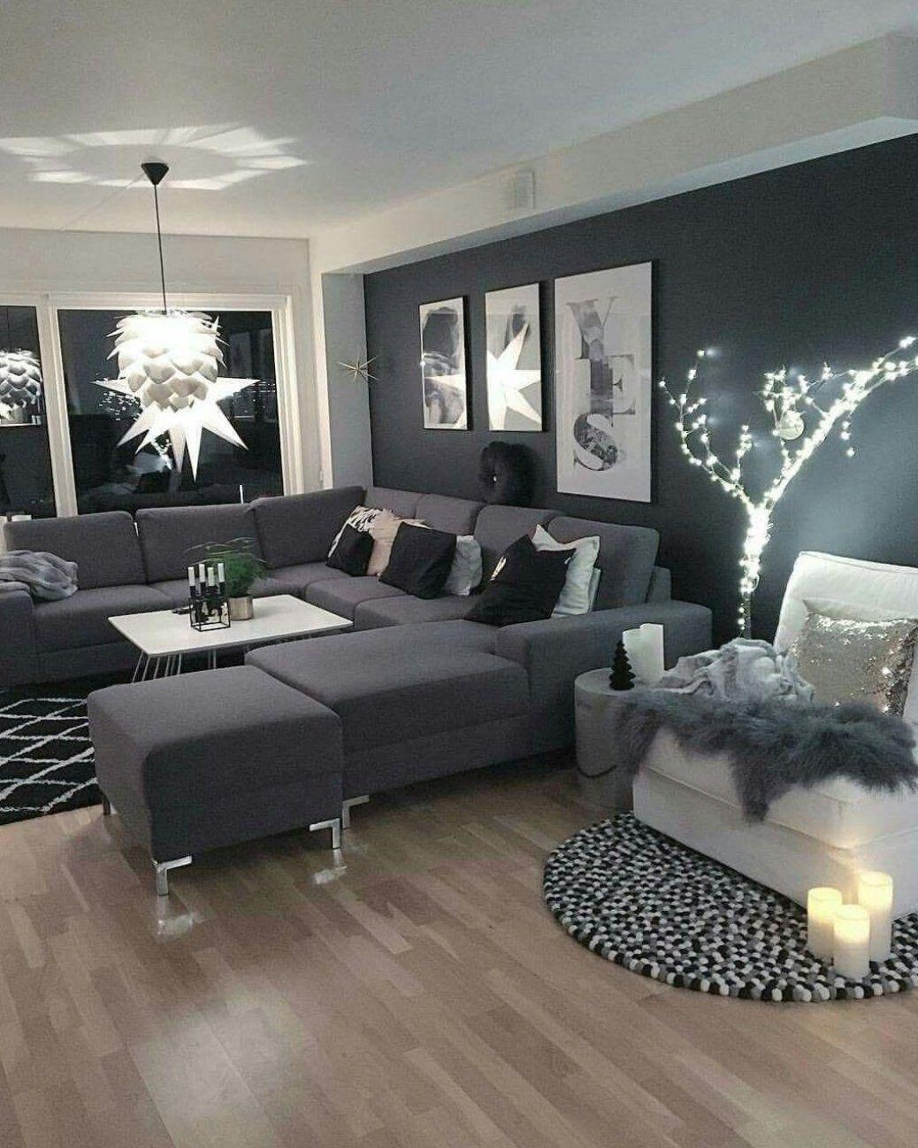 gray black white living room ideas #kitchenideas #homedecor in