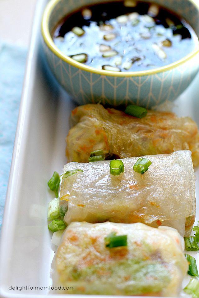 Vegetarian Chinese Potsticker Appetizers Recipe